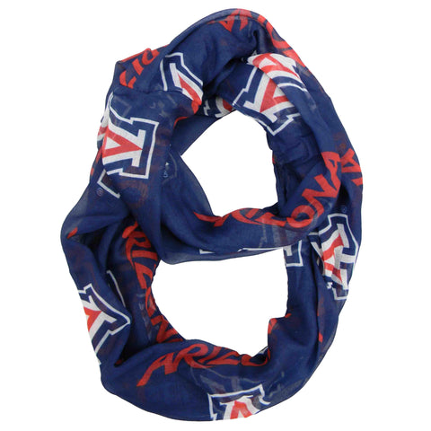 Arizona Wildcats Sheer Infinity Scarf