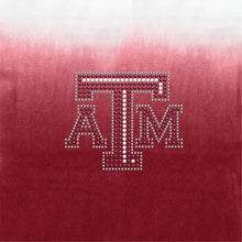 Load image into Gallery viewer, Texas A & M University Dip Dye Scarf