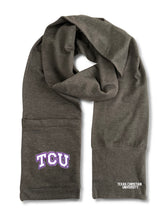 Load image into Gallery viewer, Texas Christian University Jimmy Bean 4 in 1 Scarf