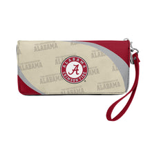 Load image into Gallery viewer, University of Alabama Curve Zip Organizer Wallet