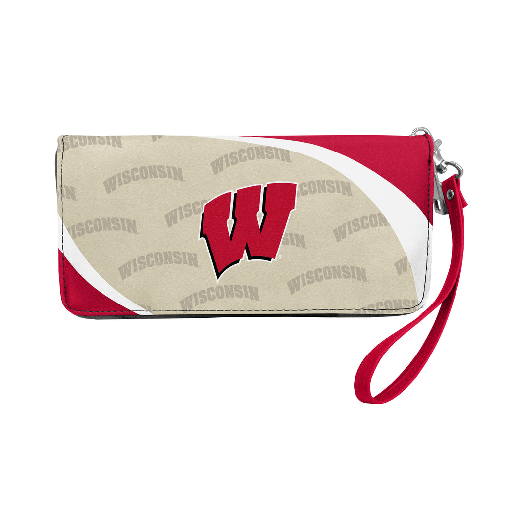 University of Wisconsin Curve Zip Organizer Wallet