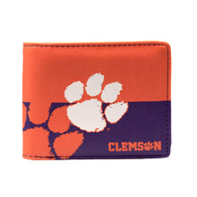 Load image into Gallery viewer, Clemson University Bi-Fold Wallet