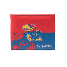 Load image into Gallery viewer, University of Kansas Bi-Fold Wallet