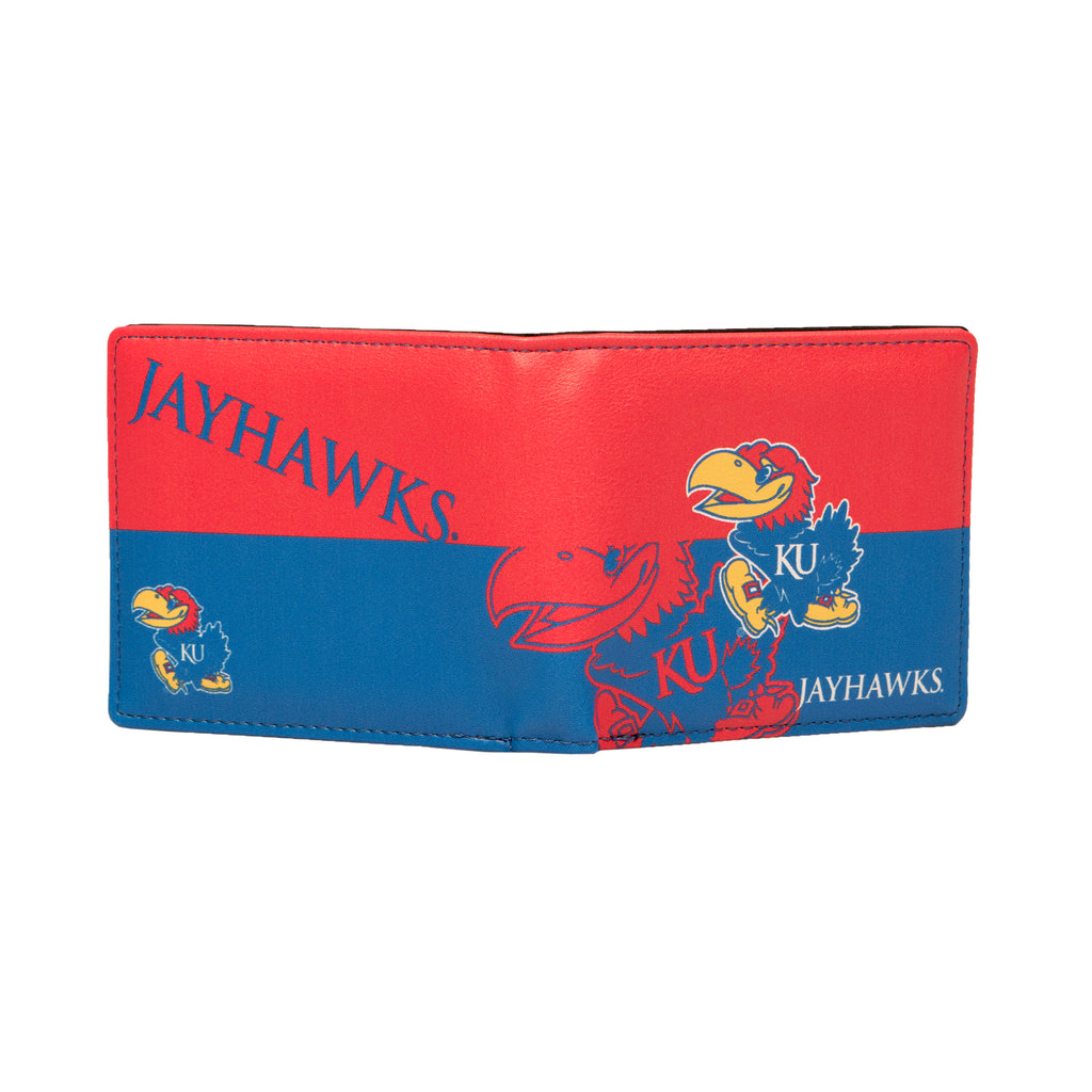 University of Kansas Bi-Fold Wallet