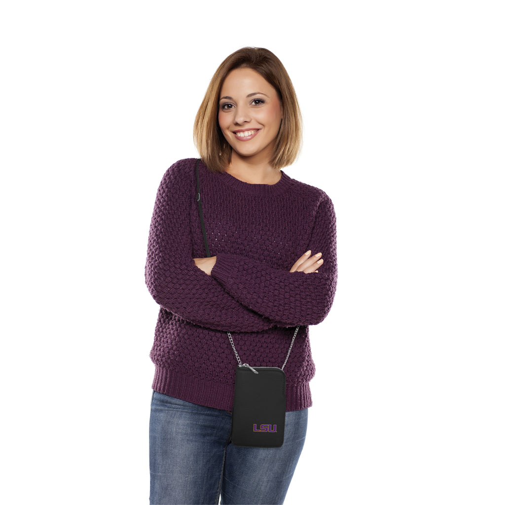 Louisiana State University Pebble Smart Purse