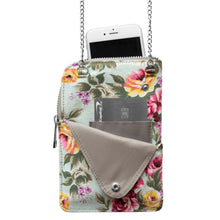 Load image into Gallery viewer, Washington State University Canvas Floral Smart Purse