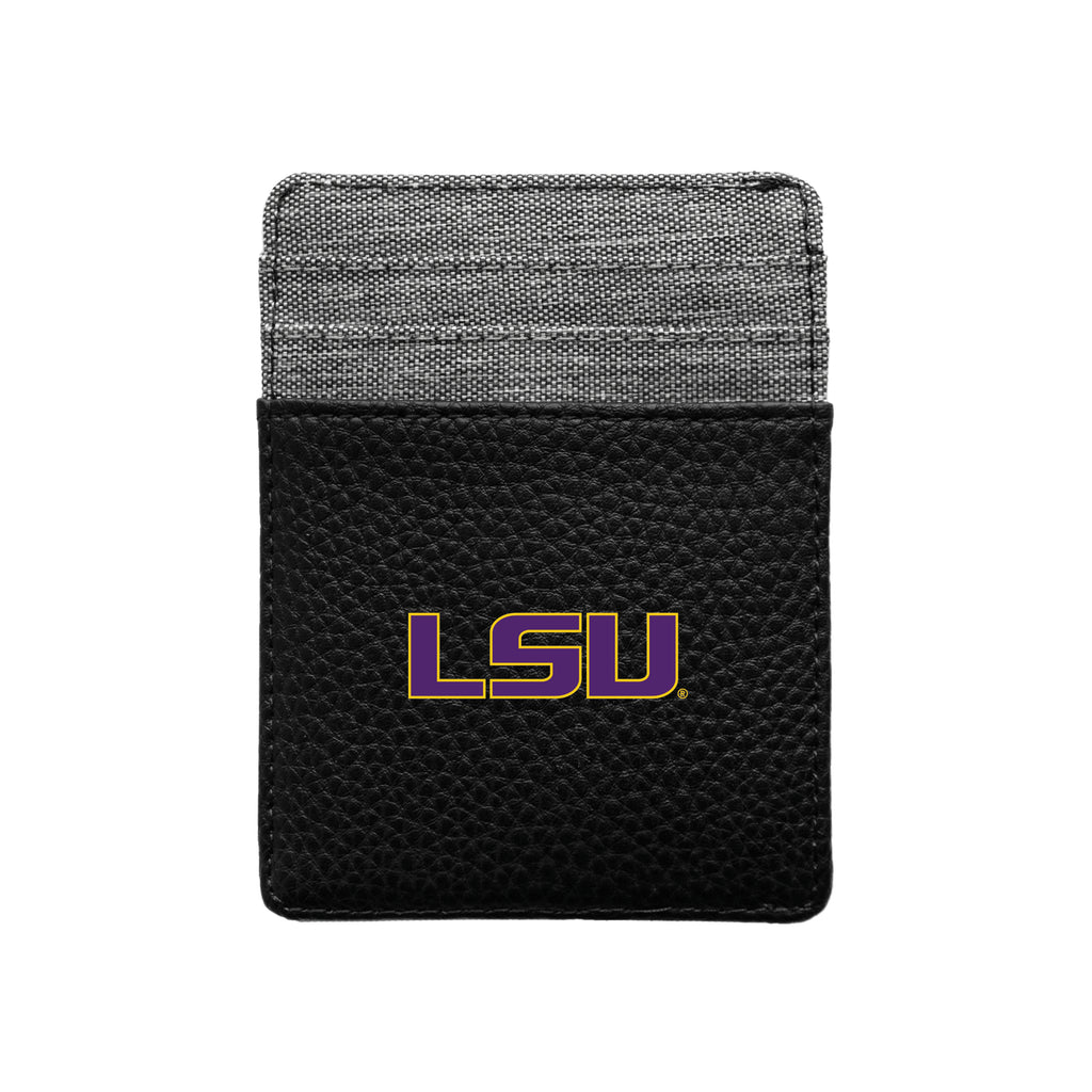 Louisiana State University Pebble Front Pocket Wallet