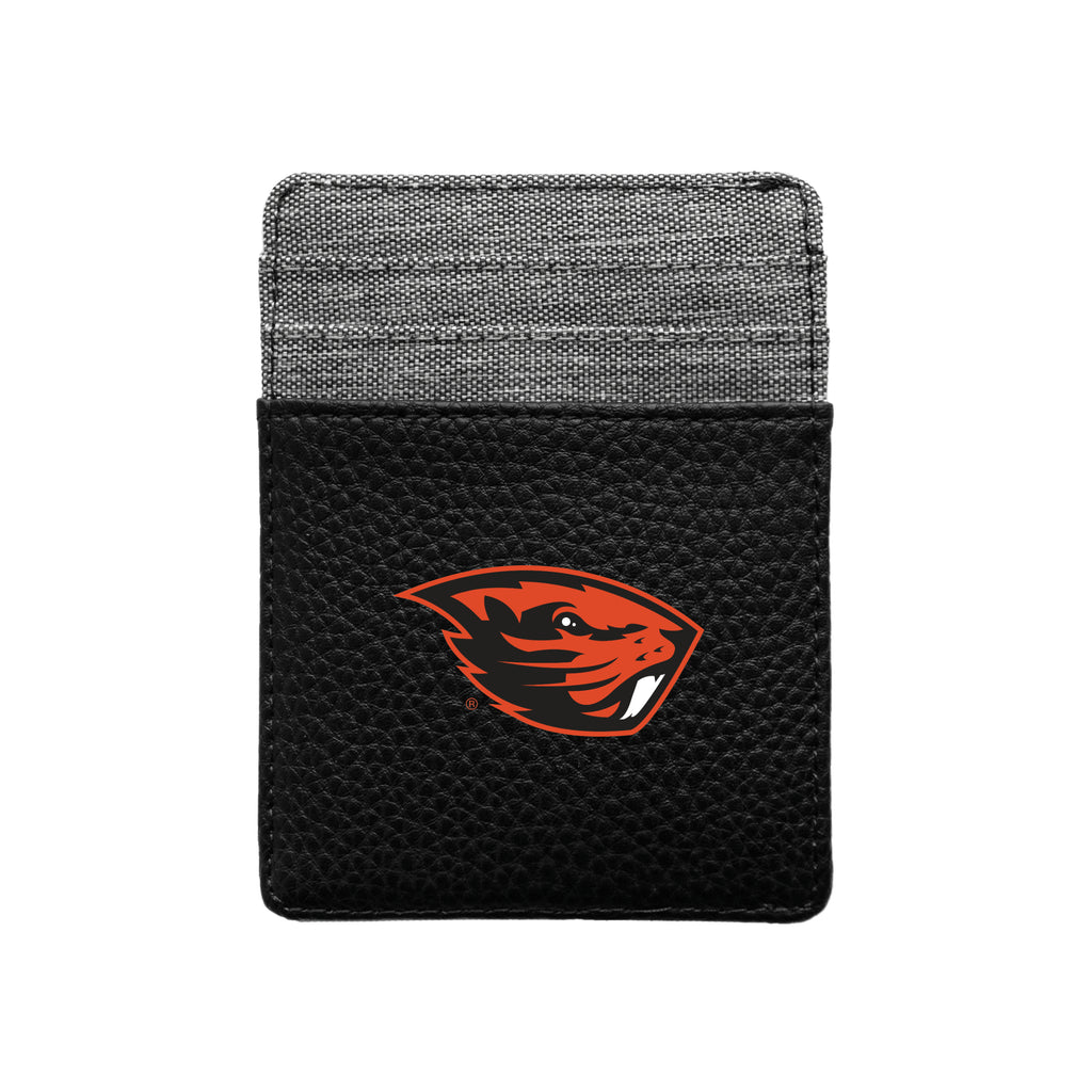 Oregon State University Pebble Front Pocket Wallet