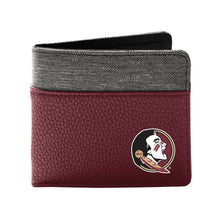 Load image into Gallery viewer, Florida State University Pebble Bi-Fold Wallet