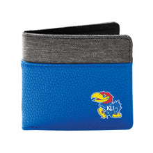 Load image into Gallery viewer, University of Kansas Pebble Bi-Fold Wallet