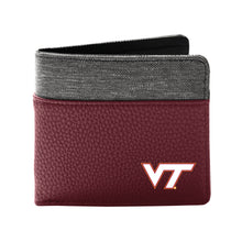 Load image into Gallery viewer, Virginia Tech Pebble Bi-Fold Wallet