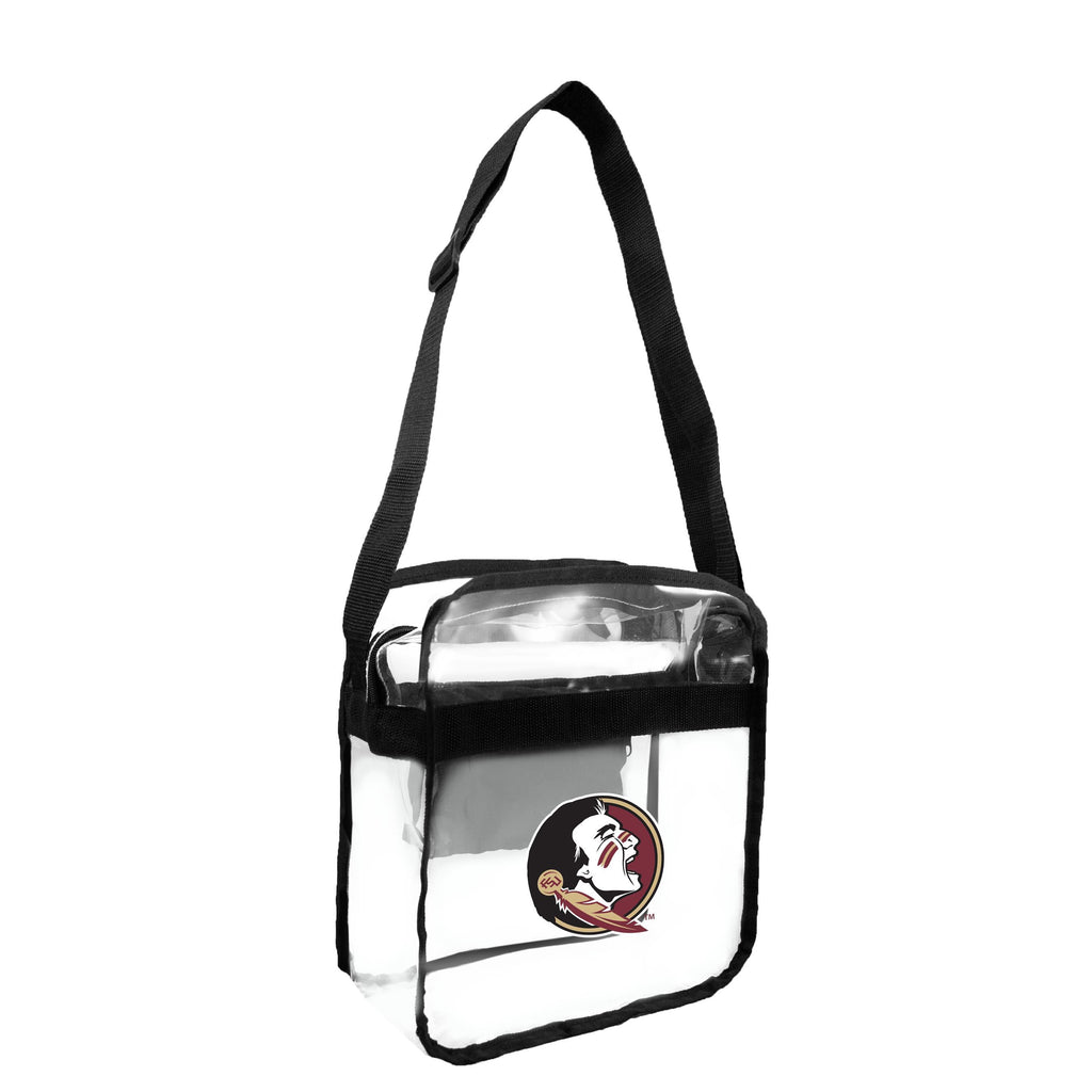Florida State University Clear Carryall Crossbody