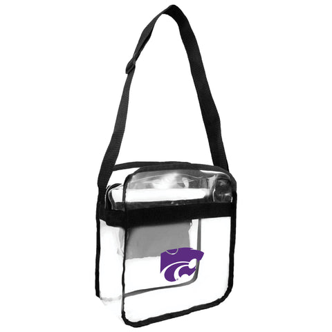 Kansas State University Clear Carryall Crossbody