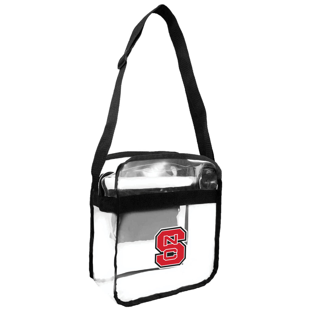 North Carolina State Wolfpack Clear Carryall Crossbody