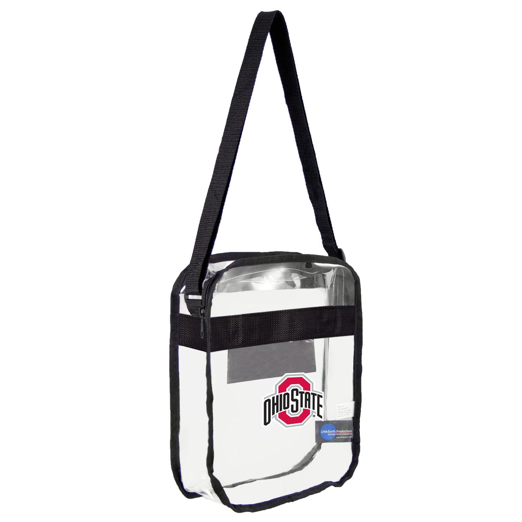 Ohio State Buckeyes Clear Carryall Crossbody
