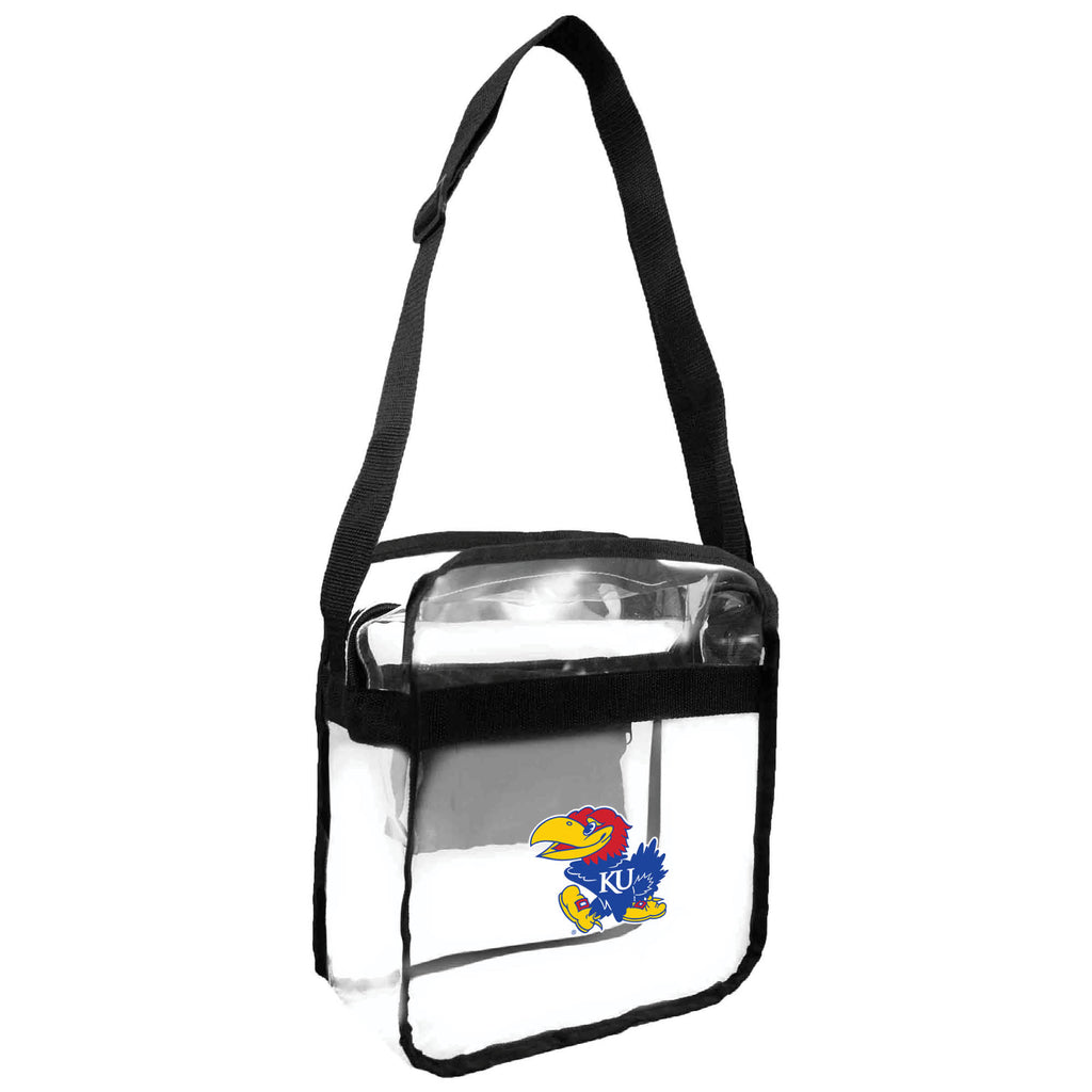 University of Kansas Clear Carryall Crossbody
