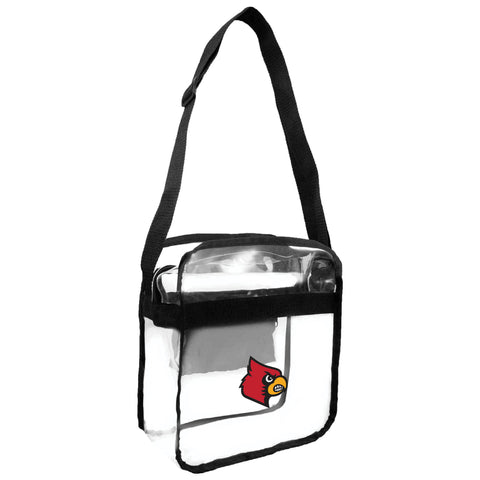 Louisville Cardinals Clear Carryall Crossbody