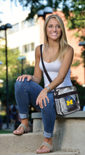 Load image into Gallery viewer, University of Michigan Clear Carryall Crossbody