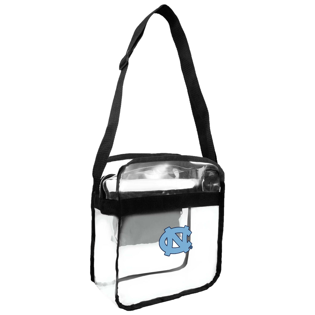 North Carolina Tar Heels Clear Carryall Crossbody