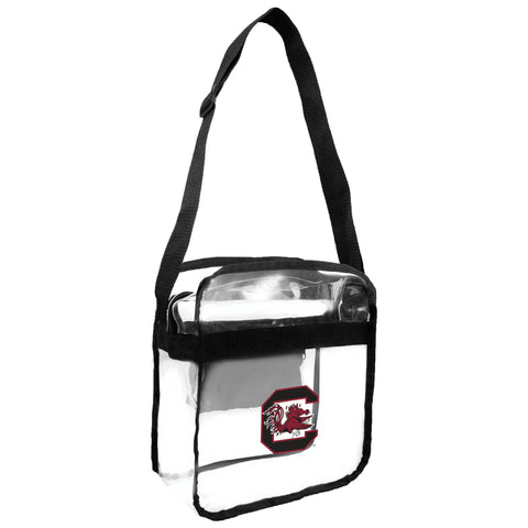 South Carolina Fighting Gamecocks Clear Carryall Crossbody