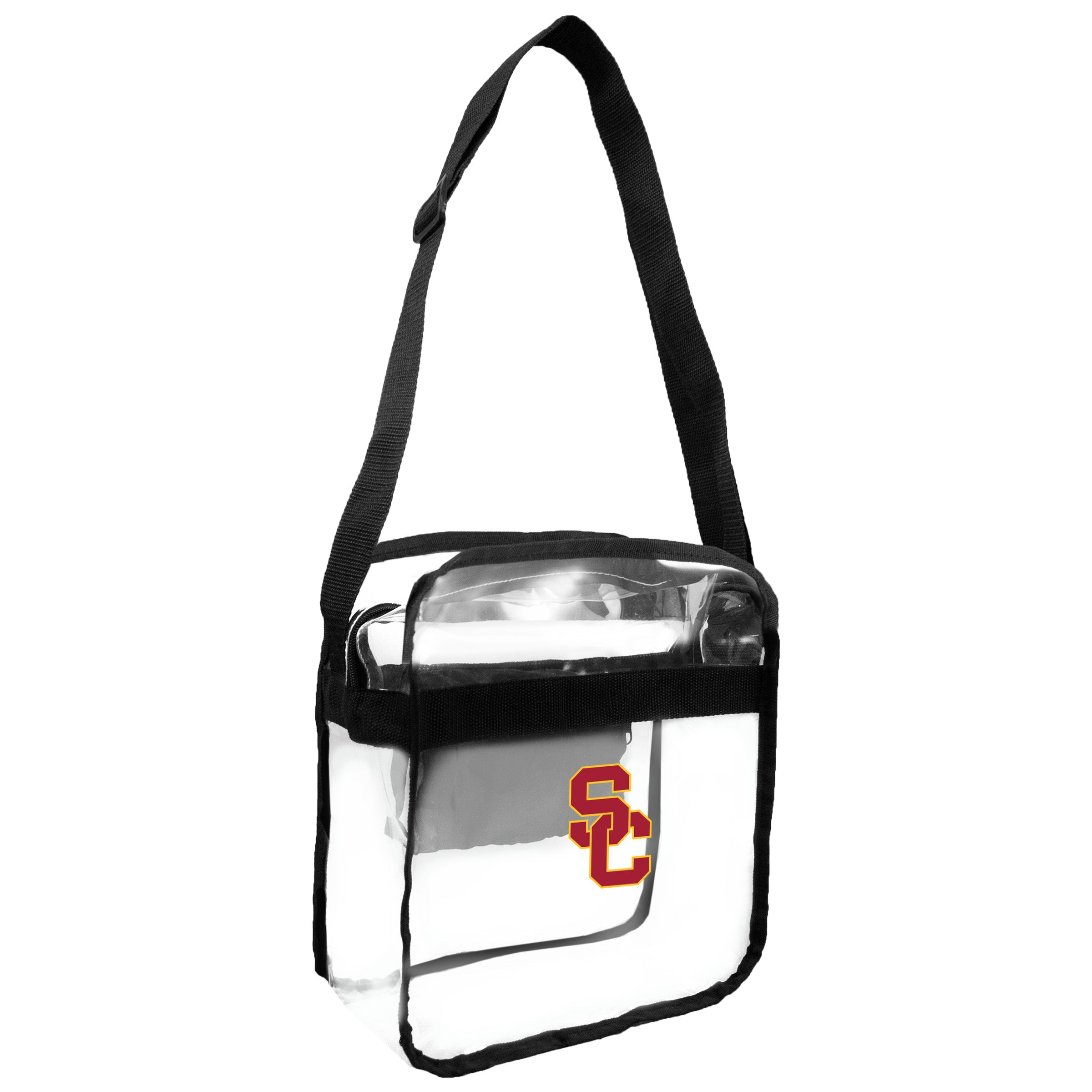 USC Trojans Clear Carryall Crossbody