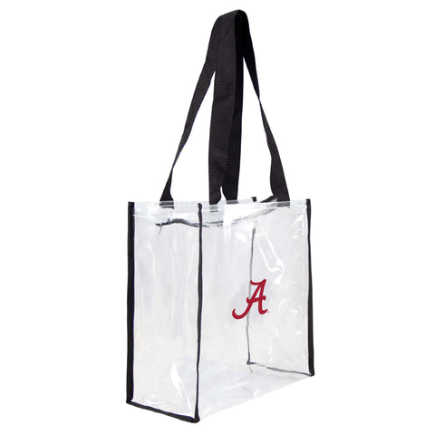 Alabama Crimson Tide Clear Square Stadium Tote