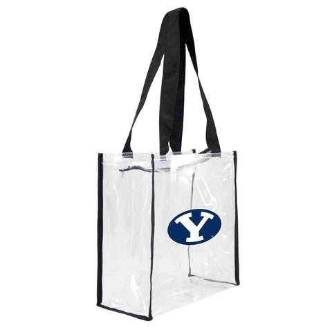 BYU Cougars Clear Square Stadium Tote