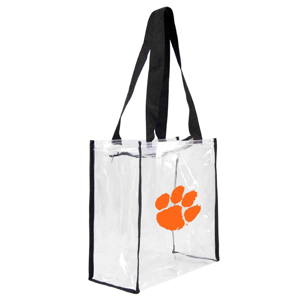 Clemson Tigers Clear Square Stadium Tote