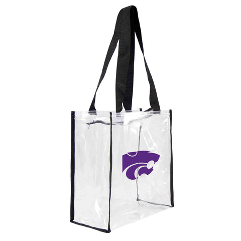 Kansas State University Clear Square Stadium Tote
