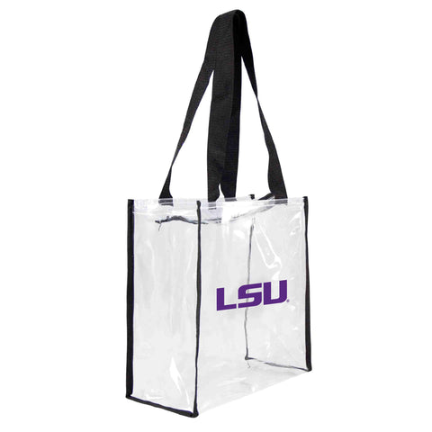 Louisiana State University Clear Square Stadium Tote