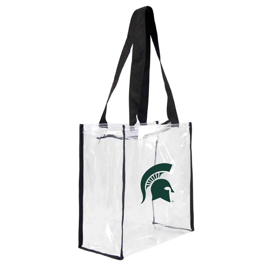 Michigan State Spartans Clear Square Stadium Tote