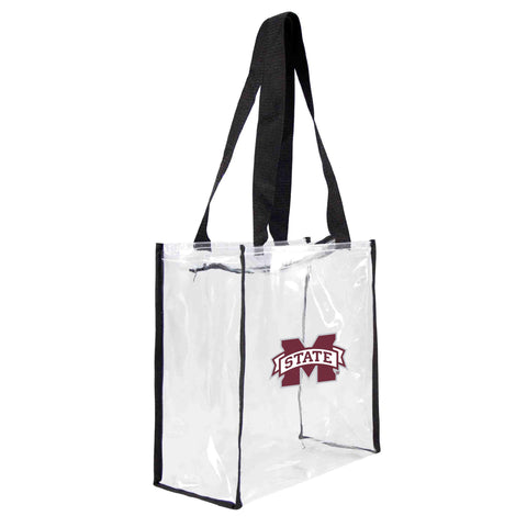 Mississippi State Bulldogs Clear Square Stadium Tote