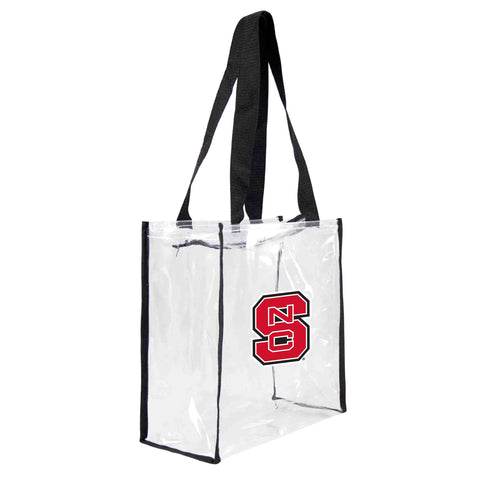 North Carolina State Wolfpack Clear Square Stadium Tote