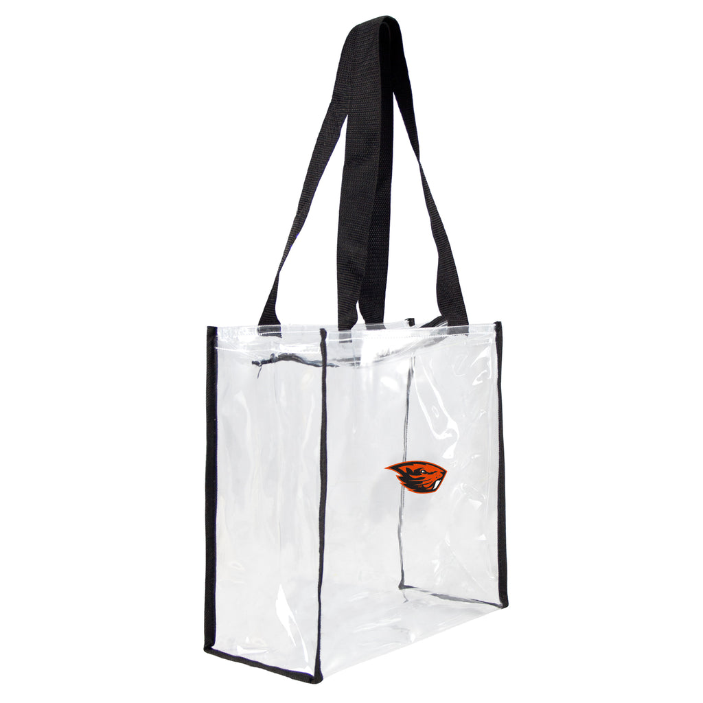 Oregon State Beavers Clear Square Stadium Tote