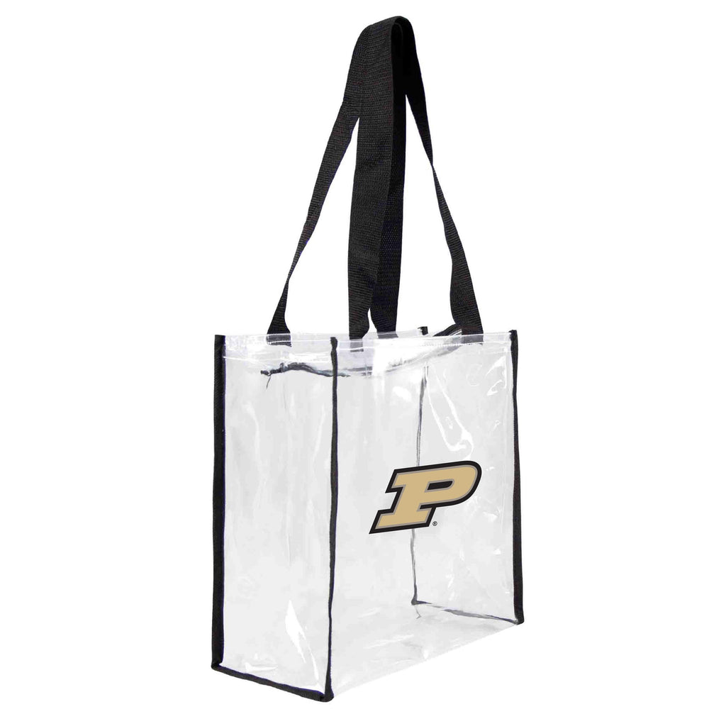 Purdue Boilermakers Clear Square Stadium Tote