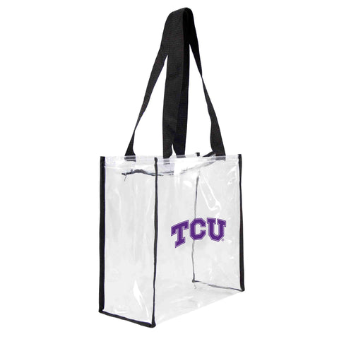 TCU Horned Frogs Clear Square Stadium Tote