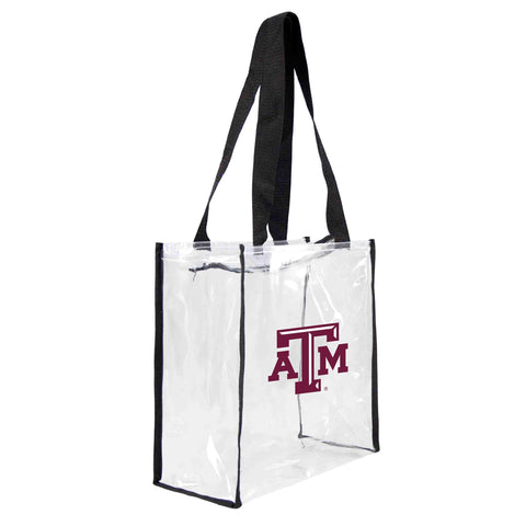 Texas A&M Aggies Clear Square Stadium Tote