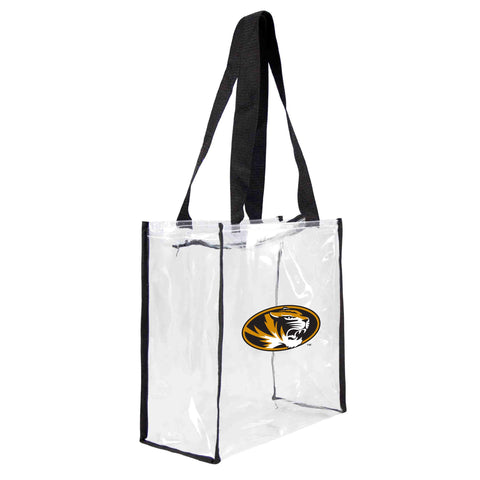 Missouri Tigers Clear Square Stadium Tote
