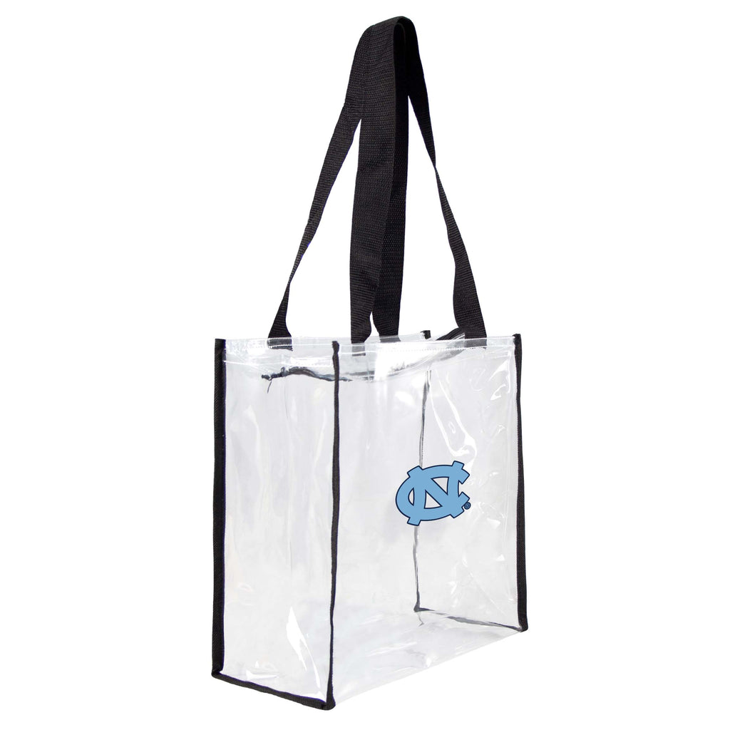 North Carolina Tar Heels Clear Square Stadium Tote