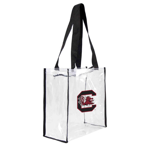 South Carolina Fighting Gamecocks Clear Square Stadium Tote