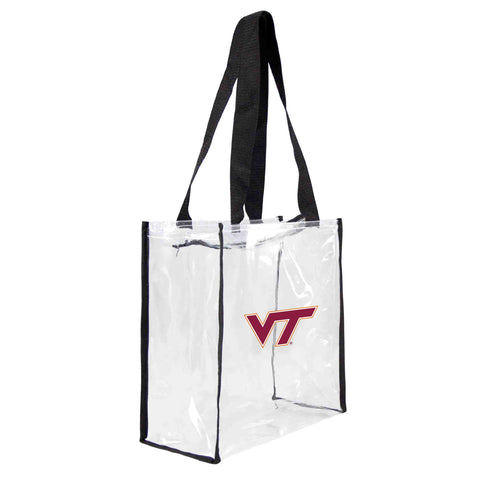 Virginia Tech Hokies Clear Square Stadium Tote