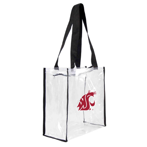 Washington State Cougars Clear Square Stadium Tote