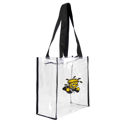 Wichita State Shockers Clear Square Stadium Tote