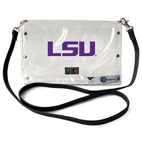 Louisiana State University Clear Envelope Purse