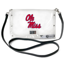 Load image into Gallery viewer, University of Mississippi Clear Envelope Purse