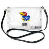 University of Kansas Clear Envelope Purse