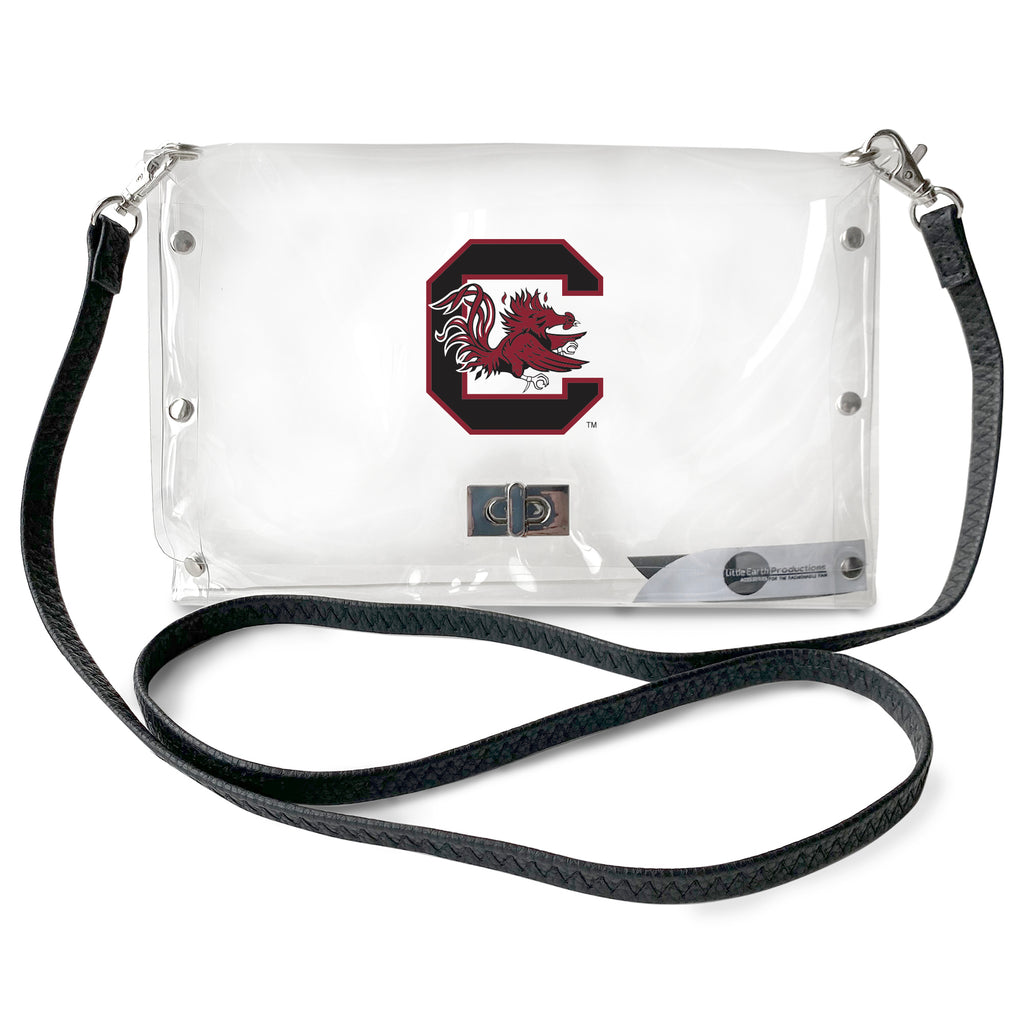University of South Carolina Clear Envelope Purse