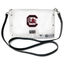 Load image into Gallery viewer, University of South Carolina Clear Envelope Purse