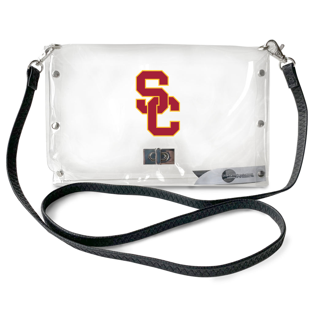 University of Southern California Clear Envelope Purse