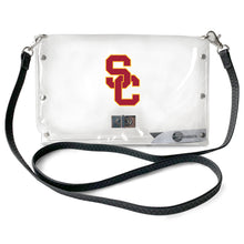 Load image into Gallery viewer, University of Southern California Clear Envelope Purse